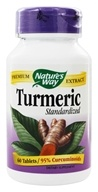 Nature's Way - Turmeric Standardized Extract - 60 Tablets (033674631003)