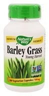 Nature's Way - Barley Grass 500 mg. - 100 Capsules, from category: Nutritional Supplements