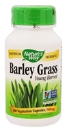 Nature's Way - Barley Grass Young Harvest 500 mg. - 100 Vegetarian Capsules