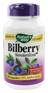 Nature's Way - Bilberry Standardized Extract - 90 Capsules, from category: Herbs