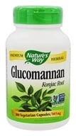 Nature's Way - Glucomannan Konjac Root 665 mg. - 100 Vegetarian Capsules