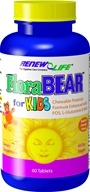 ReNew Life - FloraBear For Kids Orange Flavor - 60 Chewable Tablets