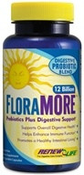 Image of ReNew Life - FloraMore Advanced Probiotic 12 Billion - 60 Vegetarian Capsules
