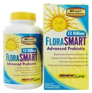 Image of ReNew Life - FloraSmart Advanced Probiotic 12 Billion - 30 Vegetarian Caplet(s)