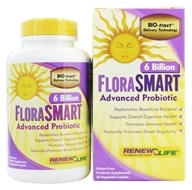 Image of ReNew Life - FloraSmart Advanced Probiotic 6 Billion - 30 Vegetarian Caplet(s)