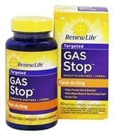 Image of ReNew Life - Gas Stop - 60 Vegetarian Capsules