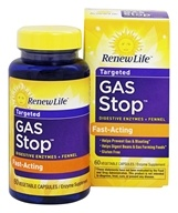 ReNew Life - Gas Stop - 60 Vegetarian Capsules, from category: Nutritional Supplements