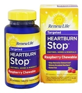 ReNew Life - Heartburn Stop - 30 Chewable Tablets (631257534941)