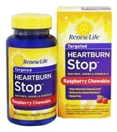 ReNew Life - Heartburn Stop - 30 Chewable Tablets by ReNew Life