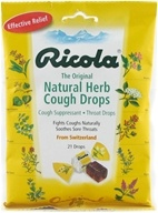 Image of Ricola - Natural Herb Throat Drop Original Natural Herb - 21 Lozenges
