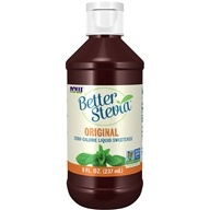 NOW Foods - Better Stevia Liquid Sweetener - 8 oz.