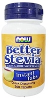 NOW Foods - Stevia Instant Tabs - 200 Tablets - $4.99