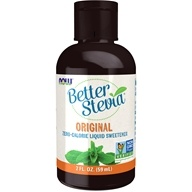 NOW Foods - Better Stevia Liquid Sweetener - 2 oz.