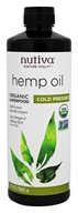 Nutiva - Hemp Oil Organic Cold Pressed - 24 oz.