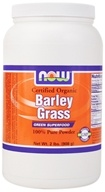 NOW Foods - Barley Grass Powder - 2 lbs., from category: Nutritional Supplements