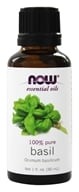 Image of NOW Foods - Basil Oil - 1 oz.