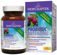 New Chapter - Organics Probiotic Anti-Aging - 90 Vegetarian Capsules