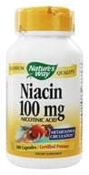 Nature's Way - Niacin 100 mg. - 100 Capsules (033674404706)