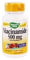 Image of Nature's Way - Niacinamide 500 mg. - 100 Capsules