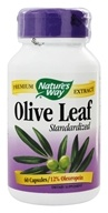 Nature's Way - Olive Leaf Standardized Extract - 60 Capsules (033674640005)