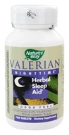 Nature's Way - Valerian Nighttime - 100 Tablets - $13.89