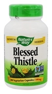 Image of Nature's Way - Blessed Thistle Herb - 100 Capsules