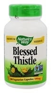 Nature's Way - Blessed Thistle Herb - 100 Capsules (033674107003)