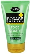 Shikai - Borage Therapy Foot Cream Unscented - 4.2 oz.