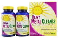 ReNew Life - Heavy Metal Cleanse 30-Day Program - 120 Capsules, from category: Detoxification & Cleansing