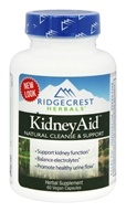 Ridgecrest Herbals - KidneyAid Natural Cleanse & Support - 60 Vegan Caps