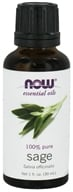 NOW Foods - Sage Oil - 1 oz.