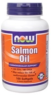 NOW Foods - Salmon Oil 1000 mg. - 100 Softgels CLEARANCE PRICED