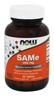 NOW Foods - SAMe Vegetarian Enteric Coated 200 mg. - 60 Tablets