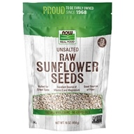 NOW Foods - Sunflower Seeds, Raw, Hulled, Unsalted - 1 lb. (733739070500)