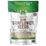Image of NOW Foods - Sunflower Seeds, Raw, Hulled, Unsalted - 1 lb.