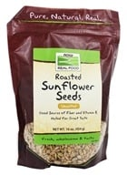 Image of NOW Foods - Sunflower Seeds, Unsalted - 1 lb.
