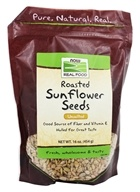 NOW Foods - Sunflower Seeds, Unsalted - 1 lb.