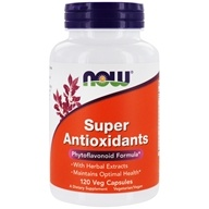 NOW Foods - Super Antioxidants - 120 Vegetarian Capsules (733739033222)
