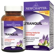 New Chapter - Tranquilnite Plus - 30 Softgels