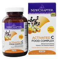 Image of New Chapter - Activated C Food Complex - 90 Tablets