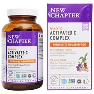 New Chapter - Activated C Food Complex - 180 Tablets - $34.17