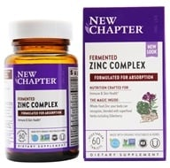 New Chapter - Zinc Food Complex - 60 Tablets - $13.77