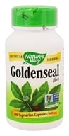 Image of Nature's Way - Goldenseal Herb 400 mg. - 100 Capsules