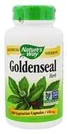 Nature's Way - Goldenseal Herb 400 mg. - 180 Capsules (033674137086)