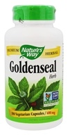 Nature's Way - Goldenseal Herb 400 mg. - 180 Capsules by Nature's Way