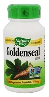 Nature's Way - Goldenseal Root 570 mg. - 100 Capsules (033674138007)