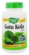 Nature's Way - Gotu Kola 475 mg. - 180 Capsules by Nature's Way