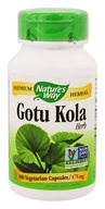 Nature's Way - Gotu Kola Herb 475 mg. - 100 Vegetarian Capsules