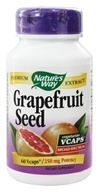Nature's Way - Grapefruit Seed Standardized - 60 Vegetarian Capsules (033674153888)