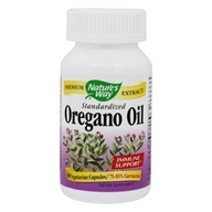 Nature's Way - Oregano Oil Standardized Extract - 60 Vegetarian Capsules (033674151815)